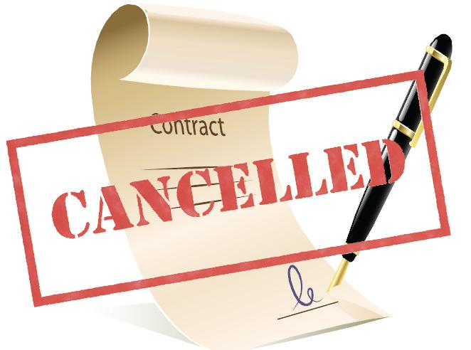 Cancellation of Lease