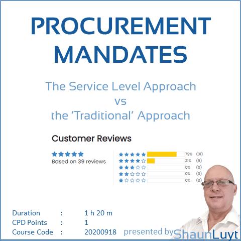 CC20200918 - WOD #12 - Procurement Mandates