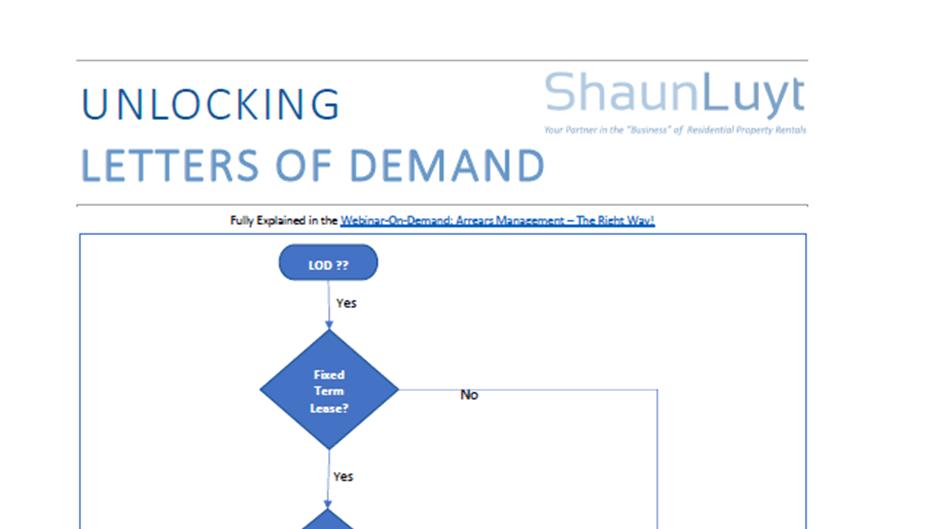 BlogPost - Unlocking Letters of Demand