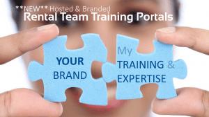 Hosted & Branded Rental Team Training Portals