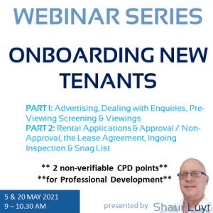 Webinar Series - Onboarding New Tenants