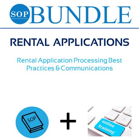 SOP Bundle 46 - Rental Applications